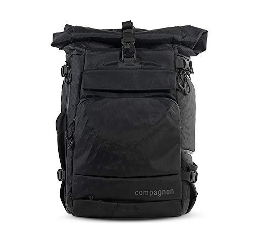compagnon Element backpack - Ergonomischer Outdoor-Kamerarucksack (Volcano Black)