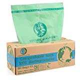 Greener Walker 100% compostable Biodegradable 10L Bolsa Basura Alimentos Cocina...