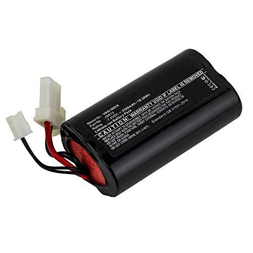 subtel® Premium Akku (7.4V, 2500mAh, Li-Ion) kompatibel mit Vorwerk Kobold VG100-48813 Ersatzakku Batterie Werkzeugakku