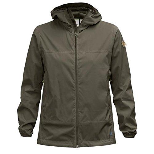 FJÄLLRÄVEN Damen Abisko Windbreaker Jacket W Softshelljacke, Tarmac, XL