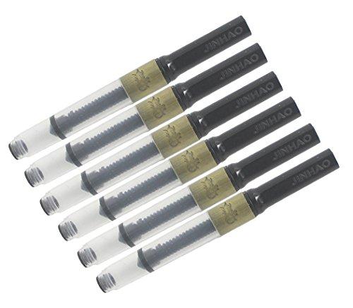 Gullor Jinhao penna stilografica-converter deluxe, confezione da 6 PCS, metallo