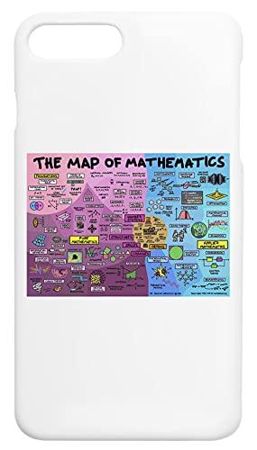 The Map Of Mathematics Custodia Cassa Del Telefono Per iPhone 7 Plus, iPhone 8 Plus Corazza Dura Phone Case