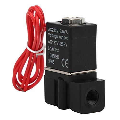 fácil de instalar válvula neumática duradera válvula solenoide válvula eléctrica resistente al...
