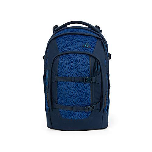 Satch pack Schulrucksack - ergonomisch, 30 Liter, Organisationstalent - Blue Moon - Blau