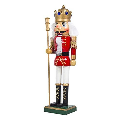 Makluce Notenkraker pop Kerstmis nieuwe creatieve Europese en Amerikaanse houten soldages pop decoratie partij sieraden
