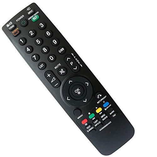 FYCJI Nuovo Sostituto AKB69680403 Nuovo Telecomando di ricambio Telecomando per lg AKB69680403 per lg TV 32LG2100 32LH2000 32LD320 37LH2000 42LH35FD 42PQ20D 50PQ20D 32LH20D- Non è necessario impostare