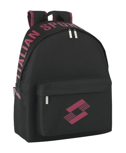 Lotto - Mochila, color negro (Safta 641408774)
