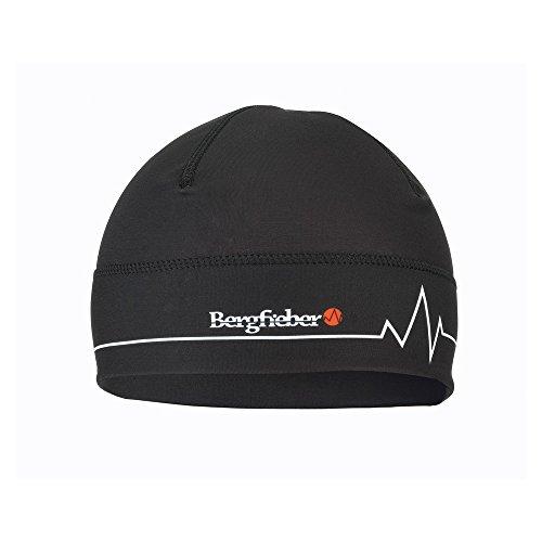 Bergfieber Herren Cap BF Mütze, schwarz, L/XL