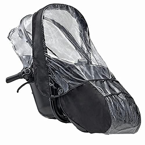 ワイズギア(YsGEAR) チャイルドシートレインカバー ヤマハPASKissminiun専用 ブラック QQ1-OGG-Y04-004