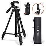 PHOPIK Lightweight Phone Tripod 55-Inch, Video Tripod with 360 Panorama and...