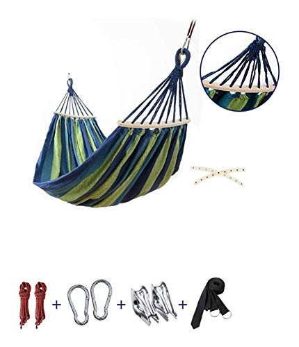 MXXS Outdoor Hammock,Single Double Camping Lightweight Portable Hammock Outdoor/Garden Leisure camping portable beach swing bed tree hanging suspended hammock 107