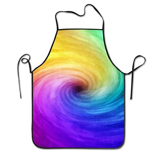 Alvahw Trichter Bunte Farbe Personalisierte Latzschürze Professionelle Langlebige Unisex Geeignet für das Backen in der Küche