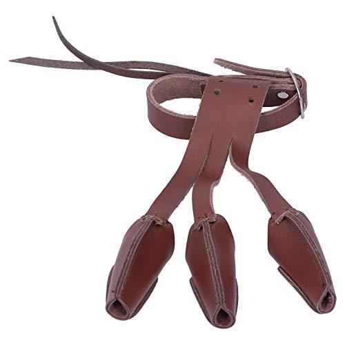 Oreilet Linke Rechte Hand Bogenschießen Handschuh, Verschleißfest 1 PCS Kunstleder Bogenschießen Handschuh, verdicken kleine Kunstleder für Bogenschießen Training