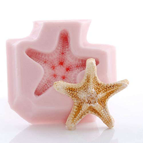 Small Starfish Silicone Mold Food Safe Fondant, Mint,Chocolate, Candy, Resin, Polymer Clay, Epoxy Perfect Size for Jewelry.