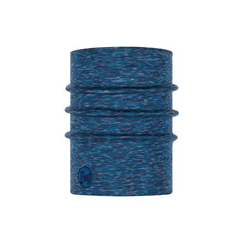 Buff Heavyweight & Multi Stripes Nackenwärmer, Lake Blue, One Size