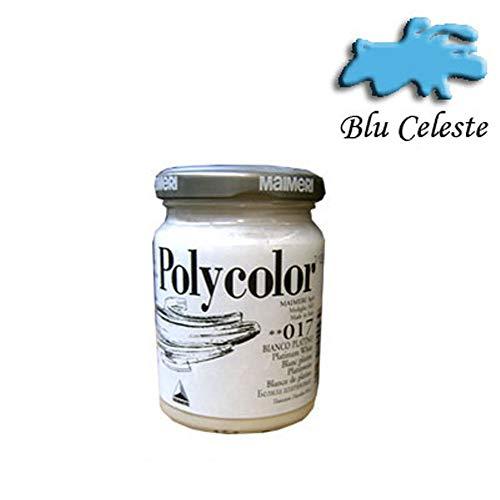 Maimeri–Topf Polycolor Maimeri hellblau 140ml–fil-m1220366