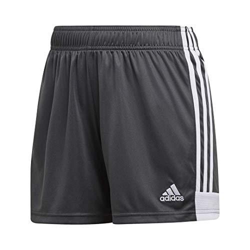 adidas Women's Tastigo 19 Short Solid Grey/White,Medium