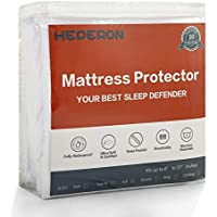 Queen Size Ultra-Soft & 100% Waterproof Mattress Protector Pad Cover