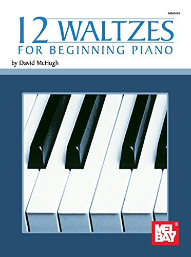 12 Waltzes for Beginning Piano (English Edition)