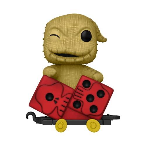 Funko- Pop Disney: Nightmare Before Christmas Train-Oogie in Dice Cart Figura da Collezione, Multicolore, 50632