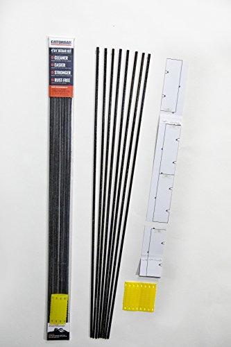 GatorBar 4' x 4' Rebar Kit for reinforcing a Concrete Slab