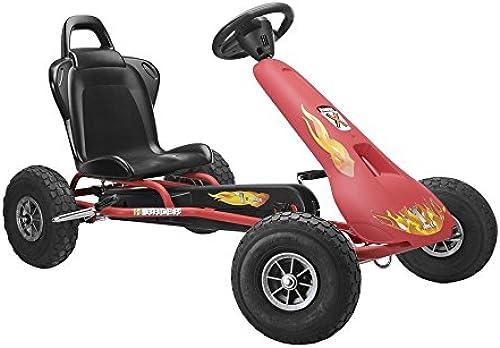 Ferbedo 008733 - Go-Cart Air Racer AR-2, rot