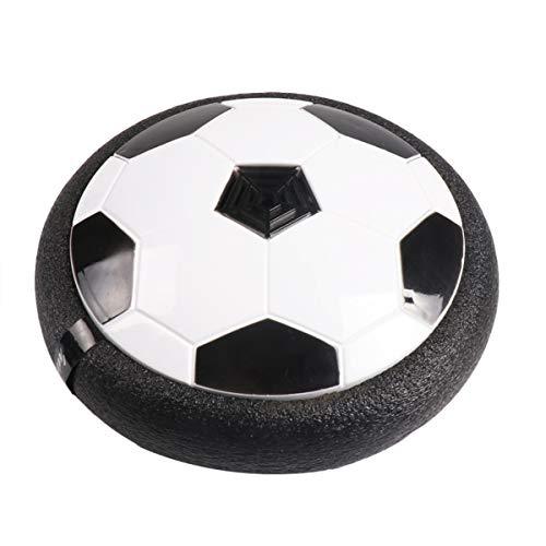 Hangend voetbal Kinderspeelgoed Air Power Football, Led Hover Football met zacht schuim voor indoor binnenspellen voor jongens,Black