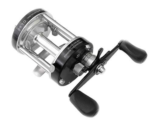 Ming Yang CL60 Reel Black Baitcasting Fishing Reels Fishing Tackle Right Handed Reel Muskie Catfish Offshore Conventional Reel