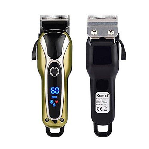 Electric Hair Clipper 110 V-240 V Wiederaufladbare Wiederaufladbare Haarschneider Professionelle Haarschneider Für Männer Elektrische Cutter Haarschneidemaschine Haarschnitt