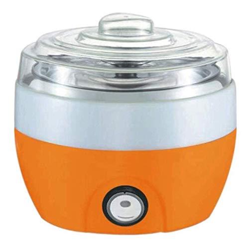 SCJ Automatische Haushaltsjoghurtmaschine Natto-Maschine mit großer Kapazität Multifunktionale Reisweinmaschine (Farbe: Orange)