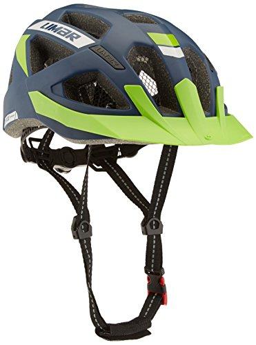Limar Fahrradhelm X-Ride Reflective, Matt-Blau, 57-61 cm, ECX-RIDEREF.CE.UP. Gr. L