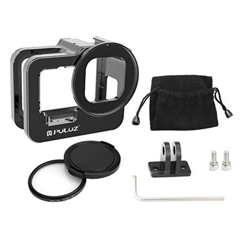 IPOTCH Carcasa Protectora Impermeable de Repuesto para cámara GoPro HERO9 para Uso subacuático Resistente al Agua