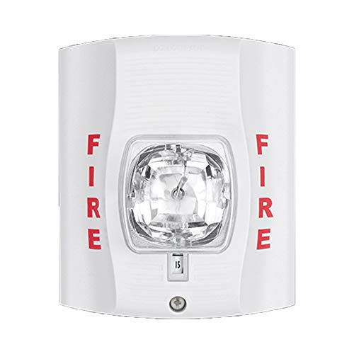 Best Buy! SecureGuard 1080P HD WiFi Battery Powered Wireless IP Fire Alarm Strobe Light Hidden Secur...