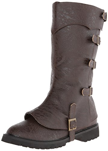 Funtasma Women's Gotham-105, Brown Distressed Polyurethane, 9