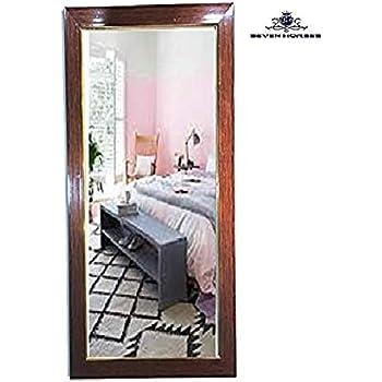 Seven Horses Full Size Dressing Wall Mirror (Mirror Size 12X36)