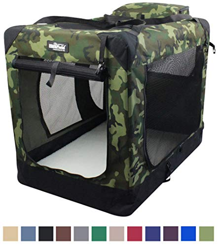 Camo Soft Dog Crates