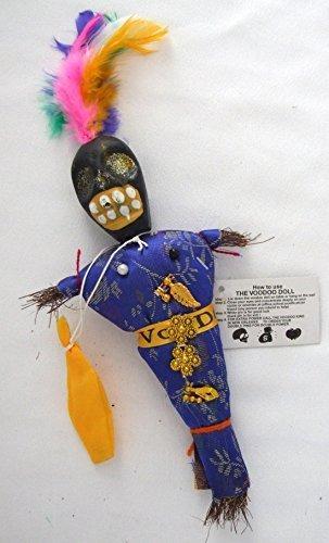 Mardi Gras World Voodoo Doll Vital Good Luck Power Money Wealth Prosper Revenge