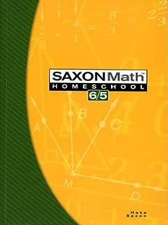 Saxon Math 6/5: Homeschool, 3rd Edition