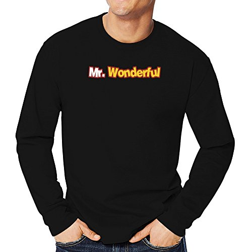 Teeburon Mr Wonderful Camiseta Manga Larga