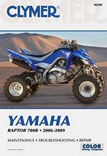 Clymer Yamaha Raptor 700R 2006-2009