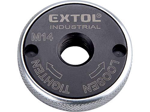 Profi Schnellspannmutter M14 für Winkelschleifer für alle gängigen Fabrikate, Extol Industrial 8798050