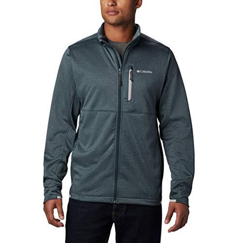 Columbia Herren Outdoor Elements Fleece-jacke mit Durchgehendem Reißverschluss, Grau (Night Shadow, Grey), L