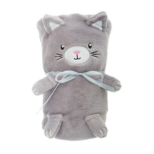 Sass and Belle Kitty Couverture en Polaire Douce pour bébé Motif Chat