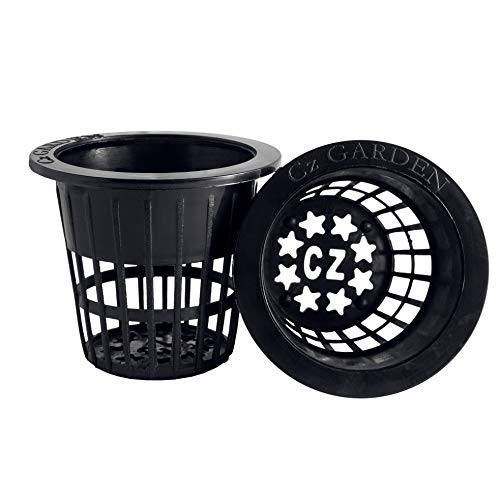2 inch Net Pots Cups Heavy Duty Round Wide Rim Design - Orchids Aquaponics...