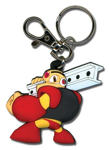 Great Eastern Entertainment Megaman Powered Up Gustman PVC Keychain