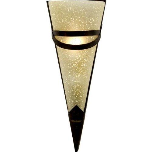 Globo Wandleuchte 1 x 40 W, E14, 230 V, 33 x 14.5 cm, rostfärbig 4413-1