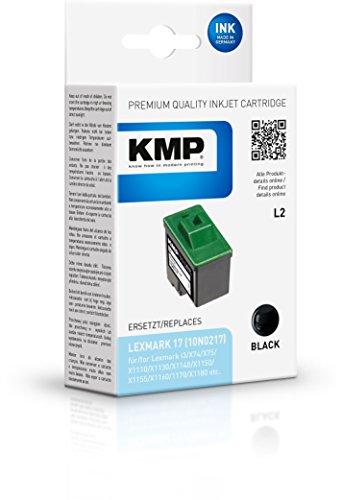 Cartucho de tinta KMP Negro L2 para Lexmark X74 / X75 / X1100 Series / X2250 / Z33