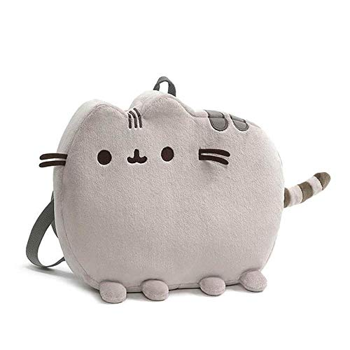 GUND Pusheen Plush Backpack,, Multicolor, 13 inches