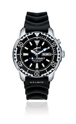 Chris Benz Taucheruhr Deep 1000M - Sharkproject Edition