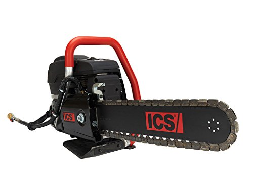 ICS 575827 695XL-16 PG Gas Powered Utility Cutting Chainsaw Package with 16' Guidebar and PowerGrit Chain